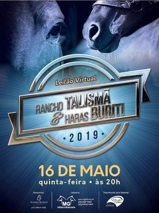 1º Leilão Virtual Rancho Talismã e Haras Buriti