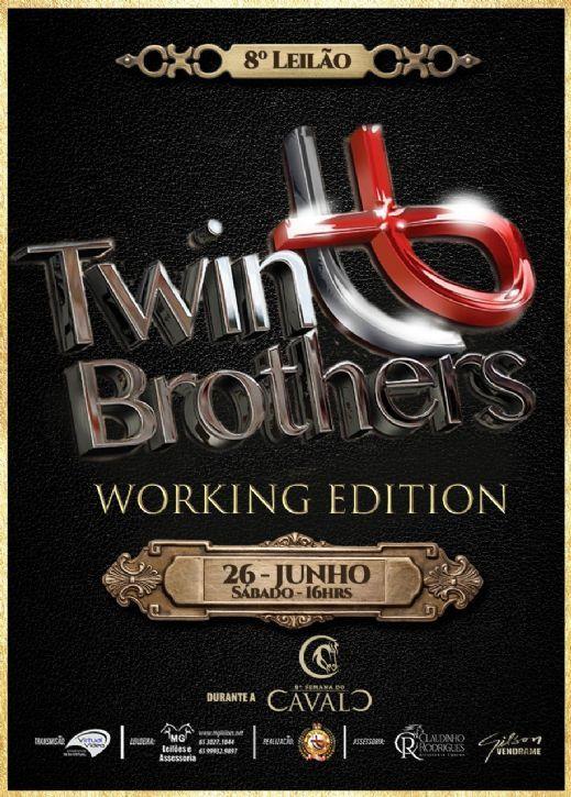 8º Leilão Haras Twin Brothers e Convidados - Working Edition - Semana do Cavalo