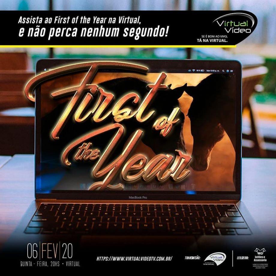 3º Leilão Virtual First Of The Year