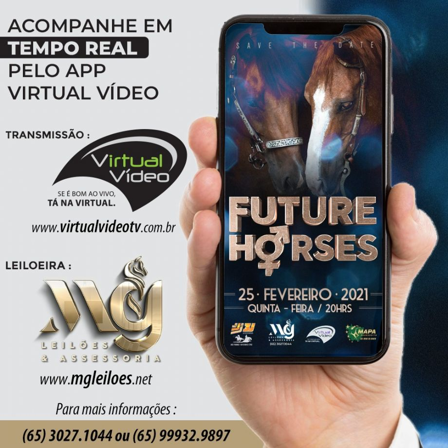1º Leilão Virtual Future Horses