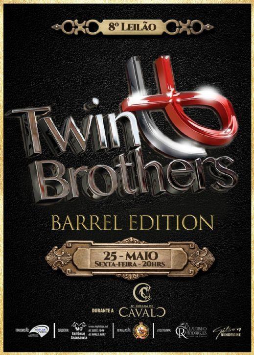 8º Leilão Virtual Haras Twin Brothers Barrel Edition - Semana do Cavalo