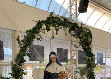 Celebração eucarística da primeira eucarístia 24-04-21